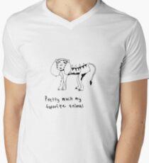 the liger, your favorite animal Men's V-Neck T-Shirt