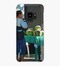The Coconut Drinker Case/Skin for Samsung Galaxy