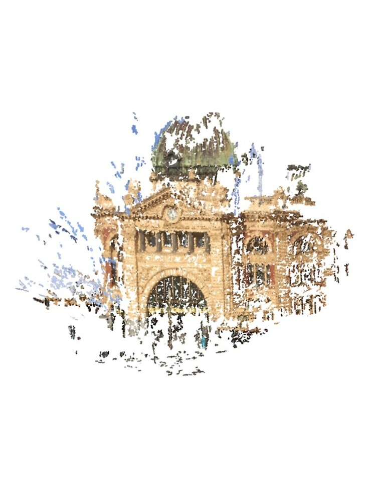 Flinders Street Station by notamitchell