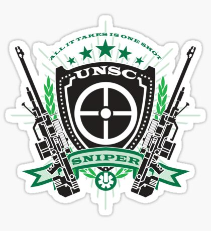 UNSC Sniper Sticker