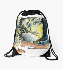 End of the night Drawstring Bag