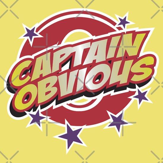 TShirtGifter presents: Captain Obvious
