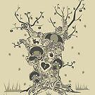 tree of imagination by AfroSimon