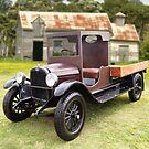 Vintage Truck by Hawley Designs