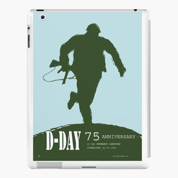 D-Day Anniversary of the Landing in Normandie - June 6, 1944 iPad Snap Case
