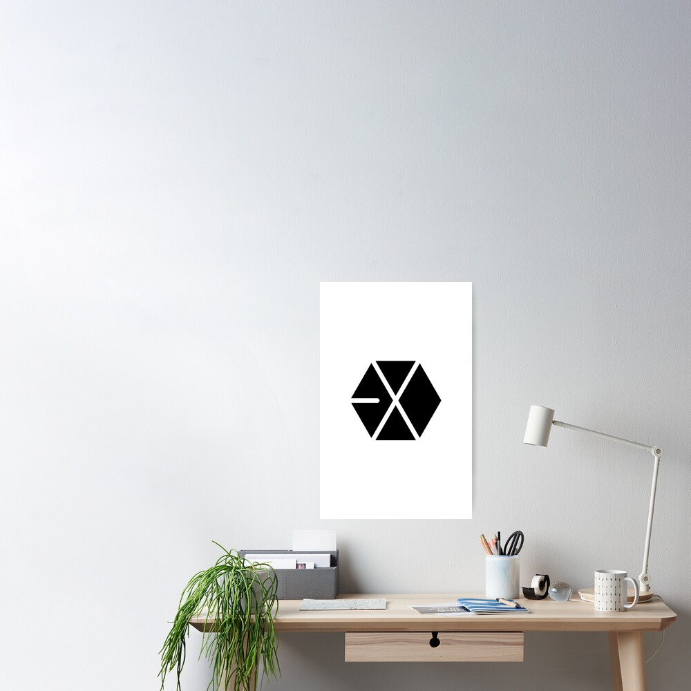 EXO Kpop Logo 1 Poster