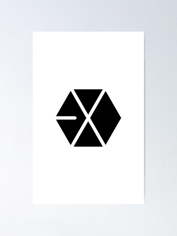 Alternate view of EXO Kpop Logo 1 Poster