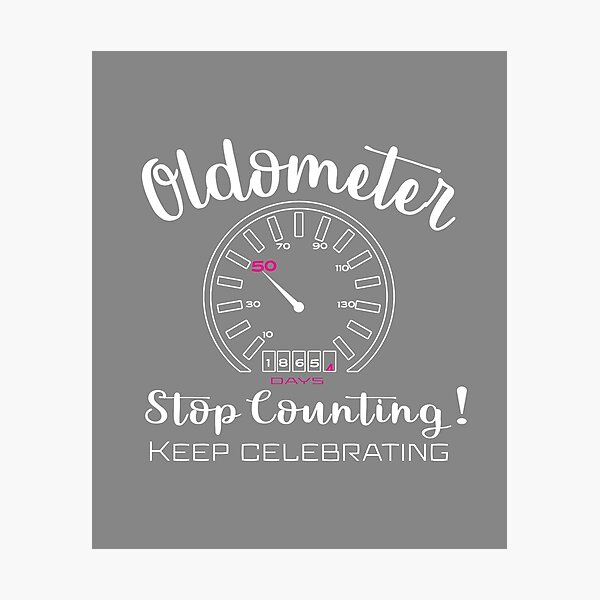 50th Birthday Quotes Wall Art Redbubble