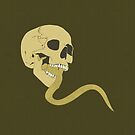 Skull Tongue [Yellow] (Other Colours Available) by Styl0
