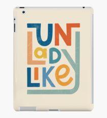 UNLADYLIKE iPad Case/Skin