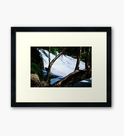 Liffey Cascade... Framed Print