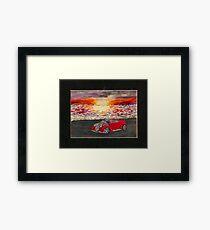 Sunset Cruiser Framed Print