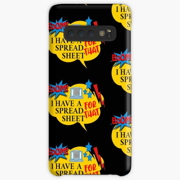 Boom I Have A Spreadsheet For That Samsung Galaxy Snap Case