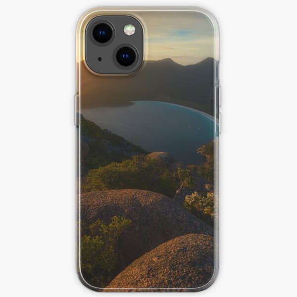 Mt Amos and Wineglass Bay iPhone Soft Case