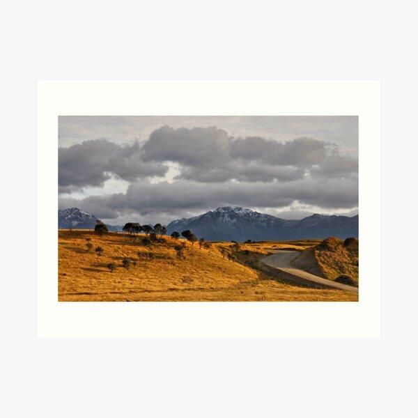 A road to somewhere Art Print