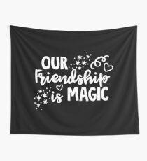 Friendship Is Magic BFF Bestfriend Goals Gift Idea Wandbehang