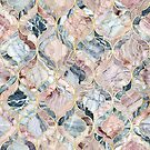 Marble Moroccan Tile Pattern by micklyn