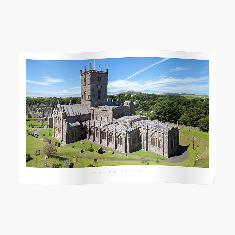 St David's Cathedral Poster