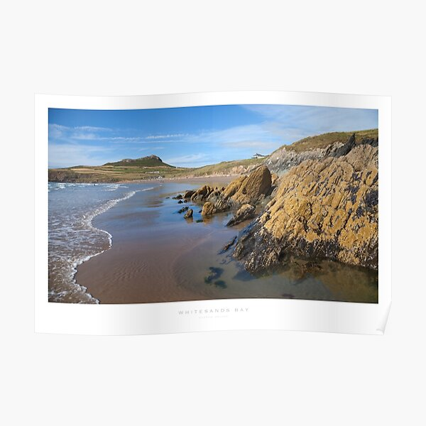 Whitesands Bay, Pembrokeshire Poster