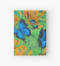 'Blue Brilliance' Hardcover Journal