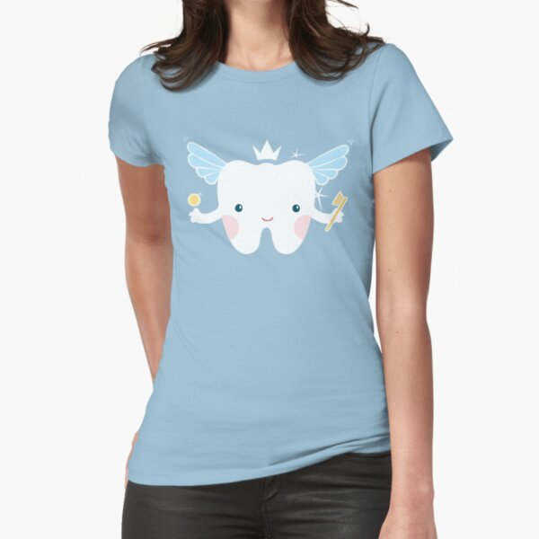 Tooth Fairy Fitted T-Shirt