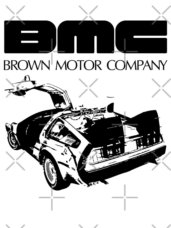 Brown Motor Company Ii Stickers By Synaptyx Redbubble