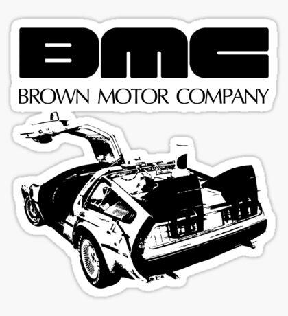 Brown Motor Company II Sticker