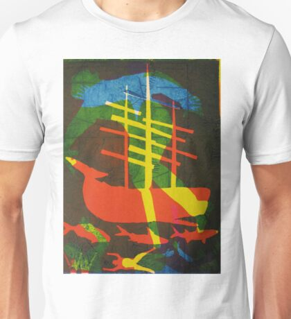 The Pequod #2 (from Meditations on Moby Dick) T-Shirt