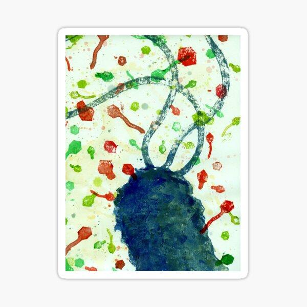 It's a phage world Sticker