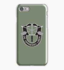 Special Forces - insignia (United States Army) iPhone Case/Skin