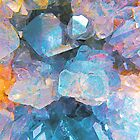 Colourful Crystal Cluster by SexyEyes69
