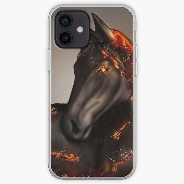 Doom Horse - Black Desert en línea Funda blanda para iPhone