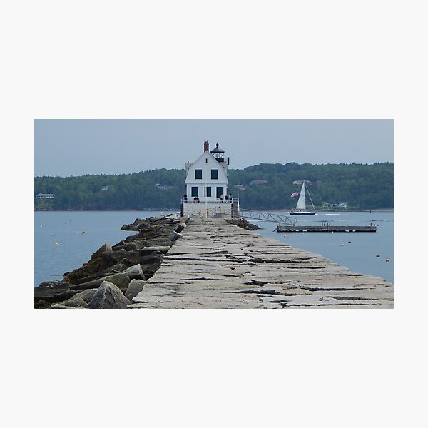 A day in Rockland Photographic Print
