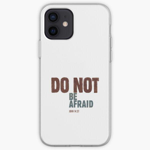 Do not be afraid - John 14:27 iPhone Soft Case