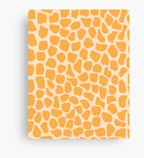 Giraffe Animal Print Canvas Print