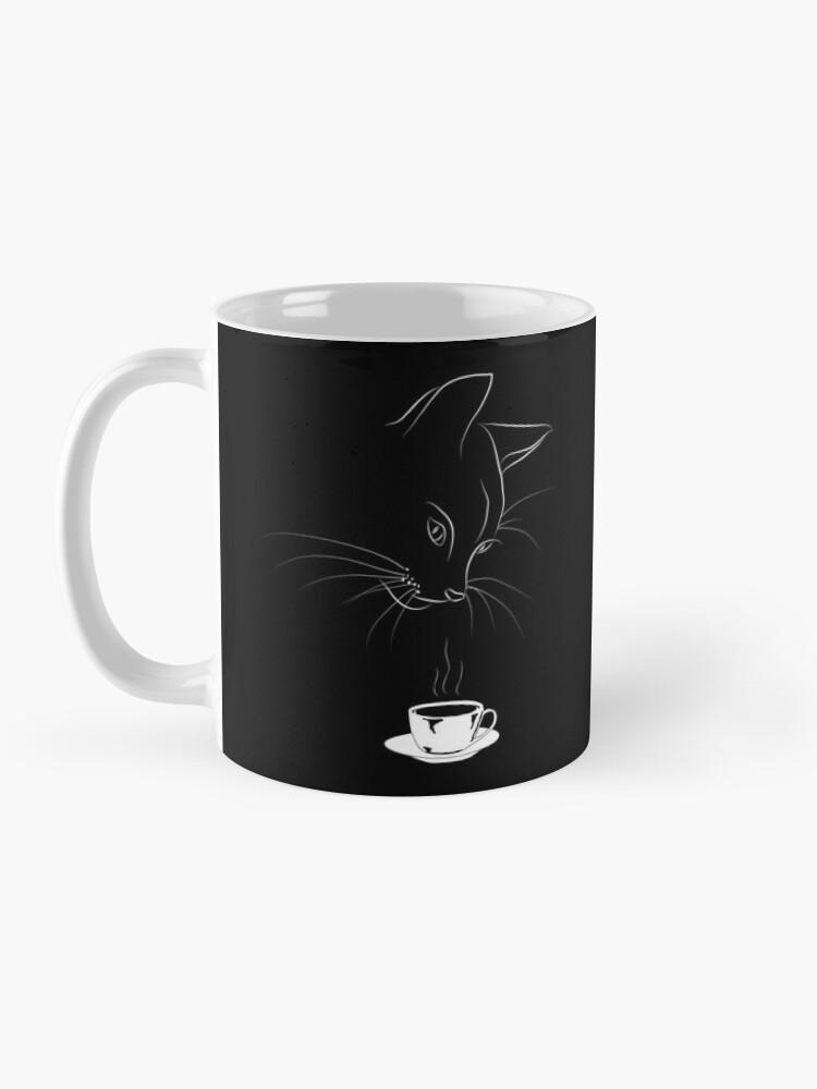 Alternate view of Coffee Cat Mug