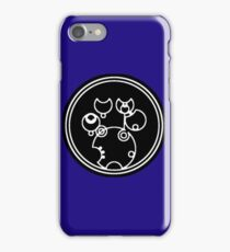 Doctor Who - Together or Not at All in Gallifreyan Script iPhone Case/Skin