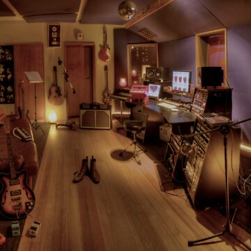 The Recording Studio by Braids