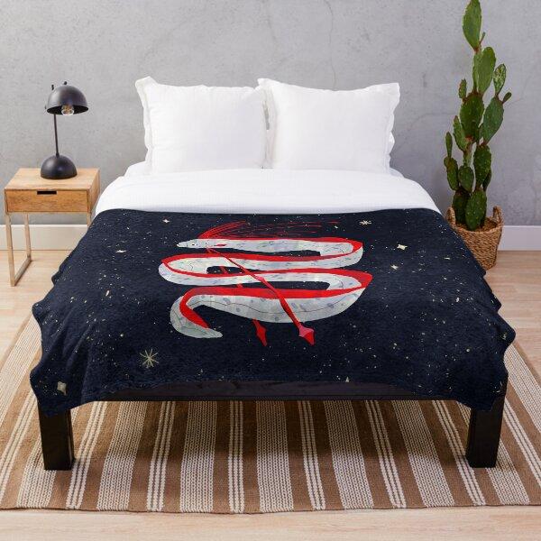 Starry Oarfish Throw Blanket