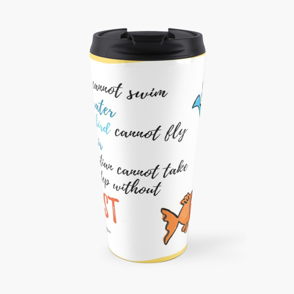 St Gregory Theologian quote Travel Mug