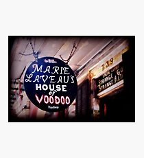 House of Voodoo Photographic Print
