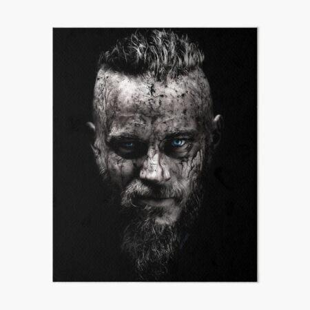 Ragnar Lodbrok The KIng Art Board Print