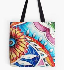 Multicolor Floral Tote Bag