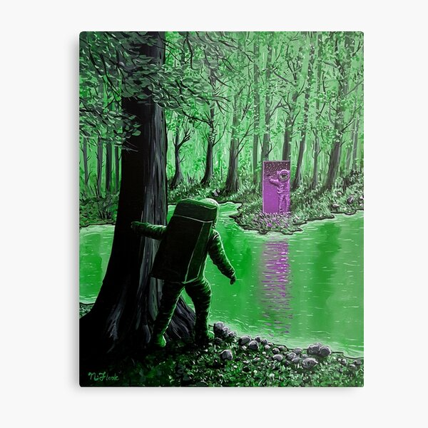 Forest Of Illusion #1 Metal Print