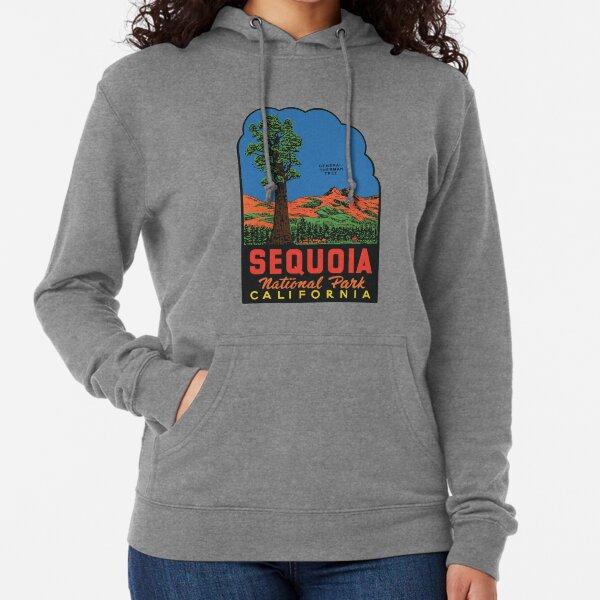 Sequoia National Park sticker Lightweight Hoodie