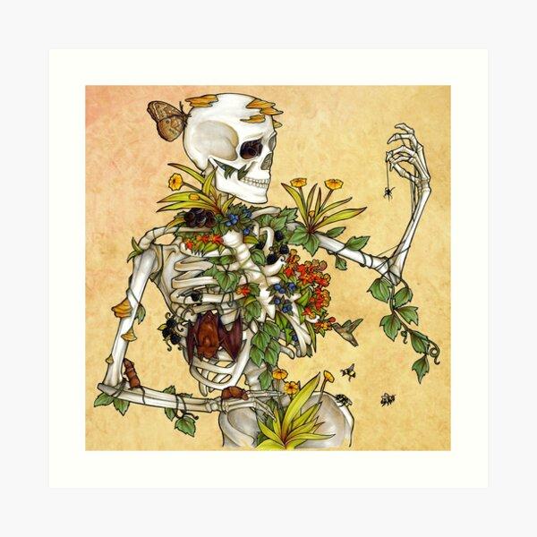Bones and Botany Art Print