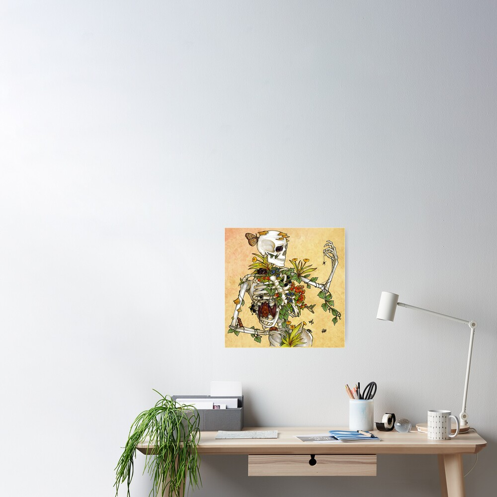 Bones and Botany Poster