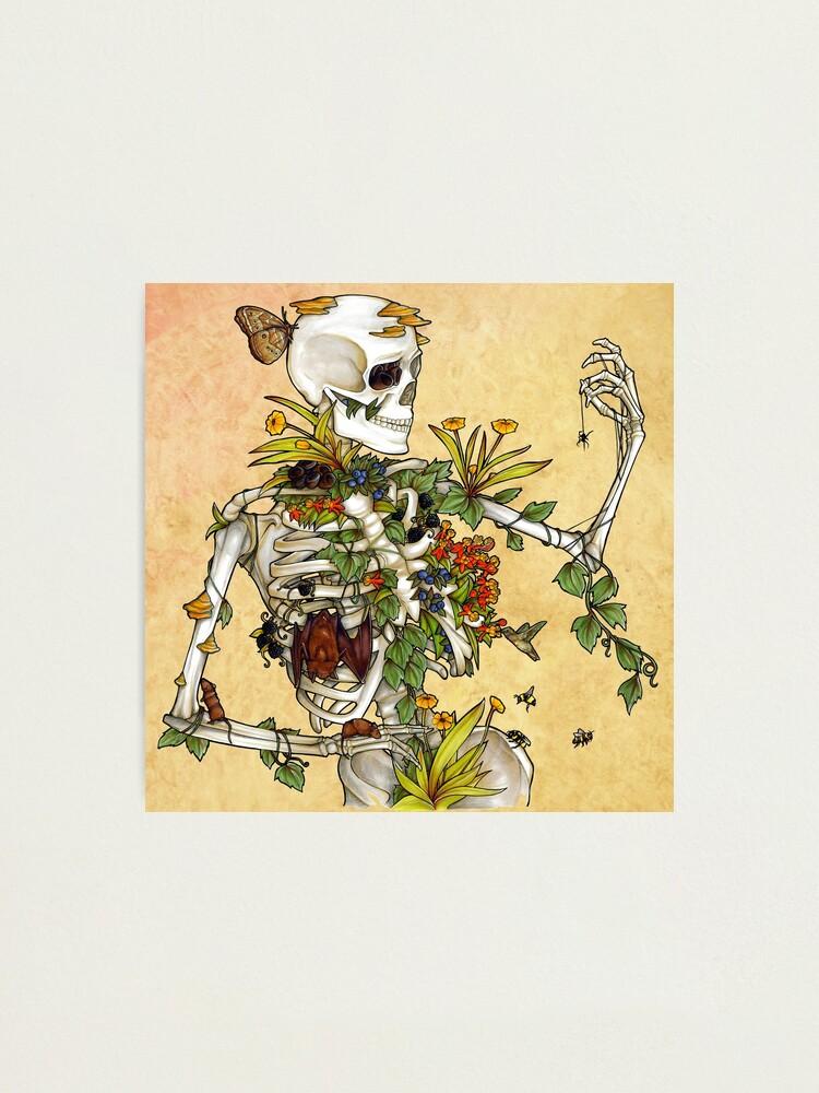 Alternate view of Bones and Botany Photographic Print