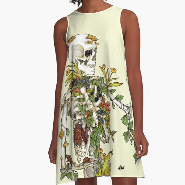 Bones and Botany A-Line Dress