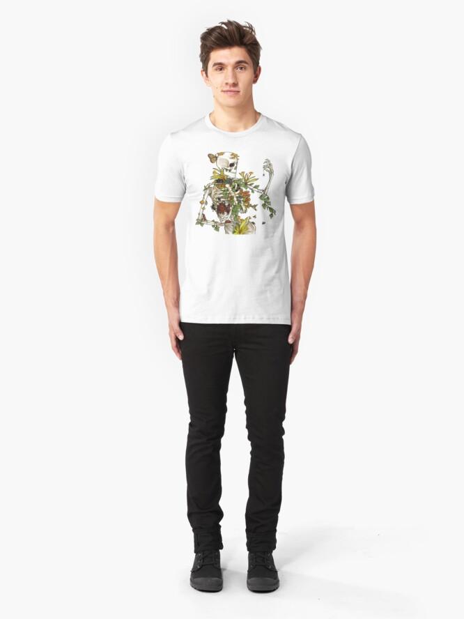 Alternate view of Bones and Botany Slim Fit T-Shirt